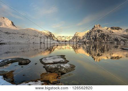 Flakstadoya, Lofoten Islands, Norway