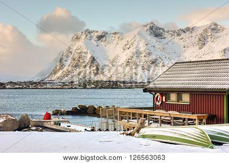 Vestvagoy, Lofoten Islands, Norway