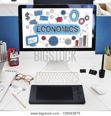 Economics Business Costs Finance Accounting Concept
