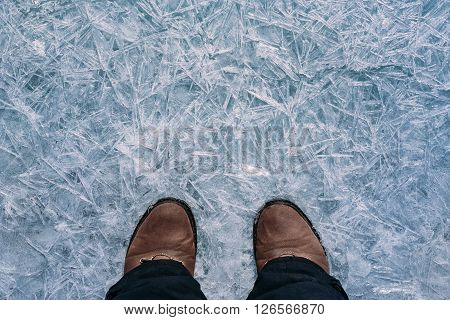The Legs On The Ice.