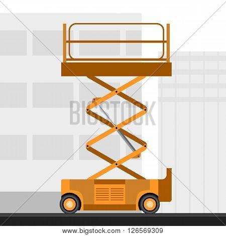 Aerial Man Scissor Lift Crane
