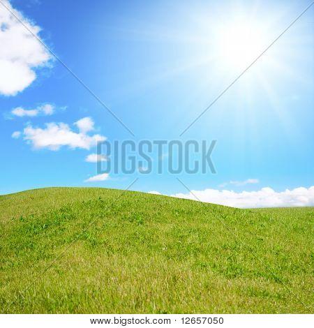 Sunny hills of carelessness