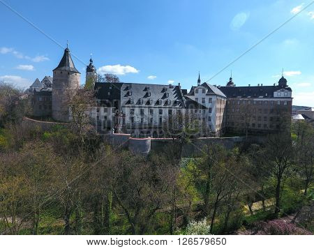 Old Castle in Altenburg Germany medieval town europe