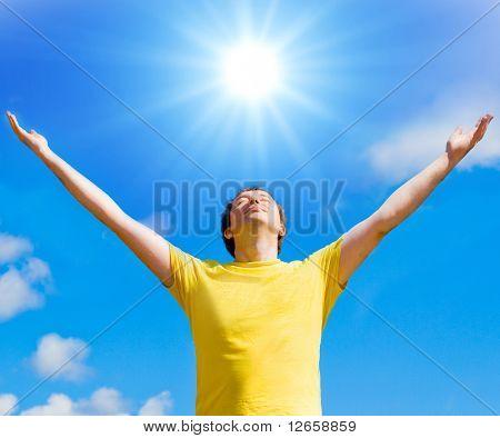 El sol me da vida