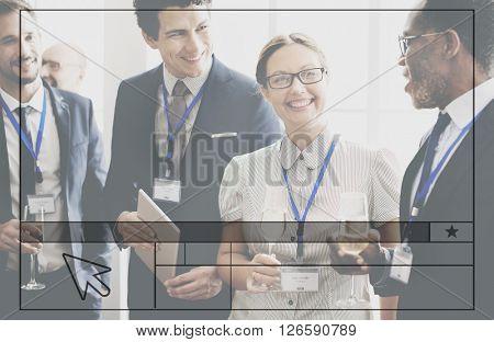 Favorite Popular Interface Webpage Star Concept