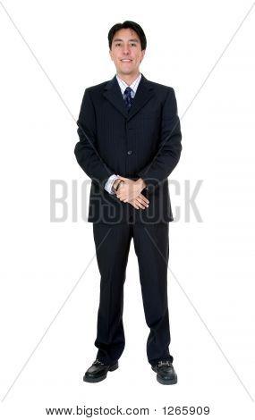 Hombre de negocios - cuerpo completo