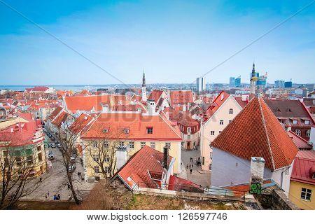Old town of Tallin, Estonia