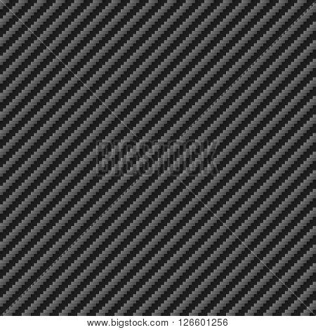 Tileable diagonal Carbon texture Sheet Pattern vector illustration