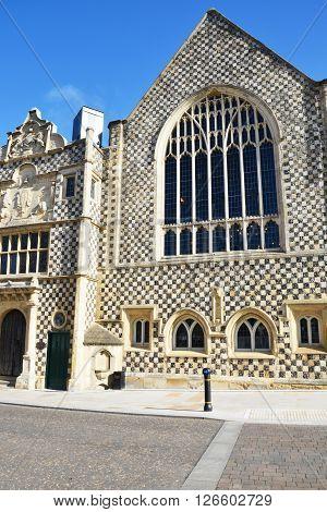 Historic Medieval Guildhall in Kings Lynn Norfolk