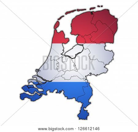 Map Of Provinces Of Netherlands