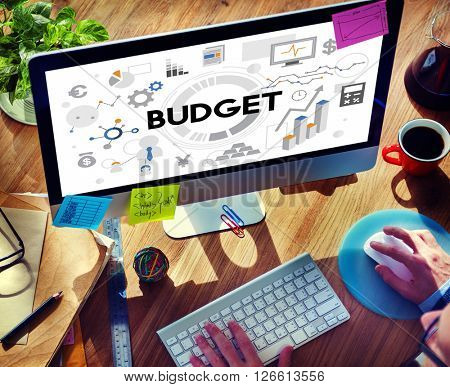 Budget Costs Finance Currency Economy Investment Concept