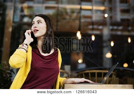 Communication Telecommunication Talking Leisure Concept
