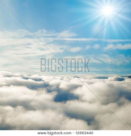 Forever sunshine at 35000 feet!