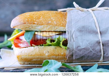 Popular Panini Sandwich