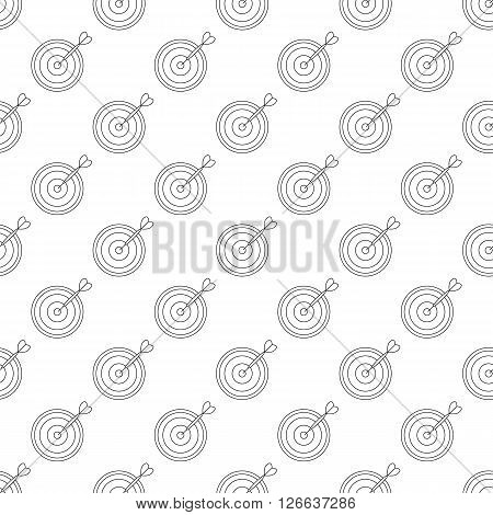 Darts pattern seamless black for any design