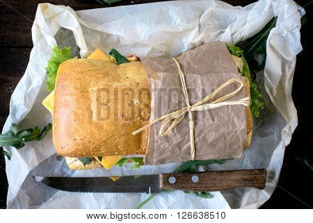 Sandwich From Above