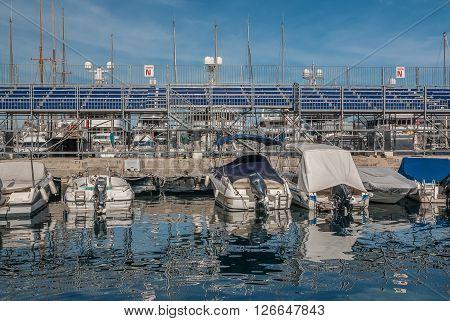 Formula 1 Monaco Grand Prix Tribunes