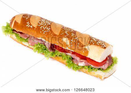 Submarine Sandwich Isolated