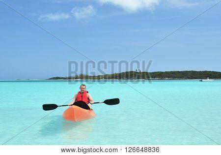 Kayaking, Bahamas