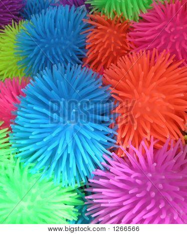 Spikey Rubber Balls