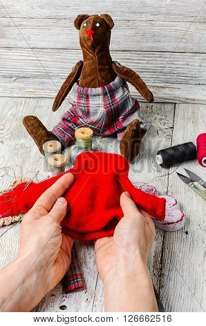 Sewing Soft Toy