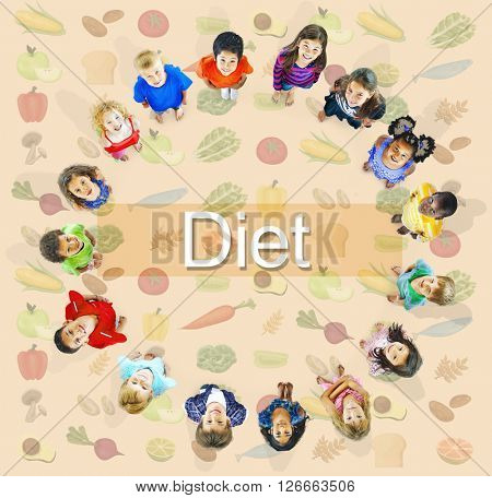 Diet Choice Healthy Nutrition Obesity Concept