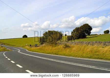 Peak District National Park in Derbyshire England UK