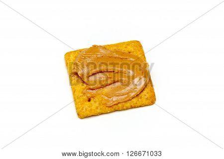Peanut Butter On Cracker