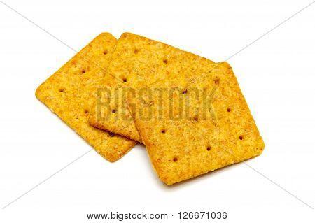 Three Square Crackers