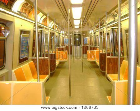 subway car interior image photo bigstock. Black Bedroom Furniture Sets. Home Design Ideas