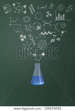 Phial Science Chalkboard