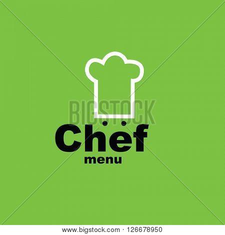 Chef menu - design template