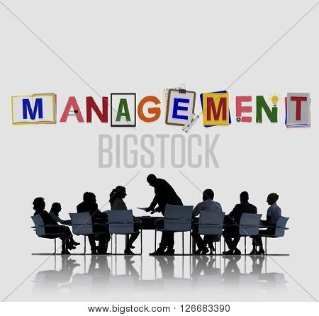 Management Company Business Organization Corporate Concept