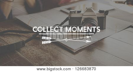 Collection Moments Experience Inspire Travel Concept