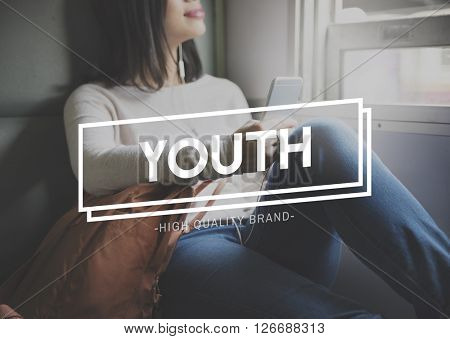 Youth Culture Teenagers Young Generation Concept