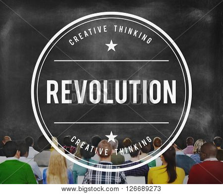 Revolution Generation Innovation Change Freedom Concept
