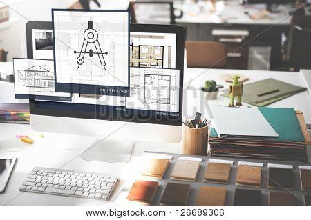 Architecture Construction Design Development Concept