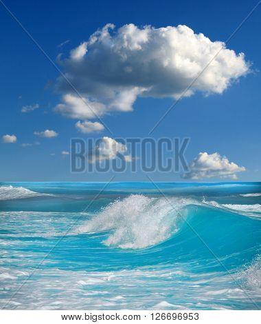 ocean-view seascape landscape