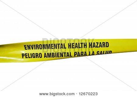 Environmental Health Hazard Tape