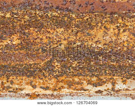 Old Rusty Zinc Plated