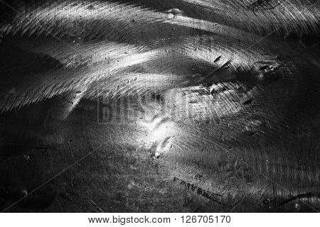 close up aluminum grinding texture for background use