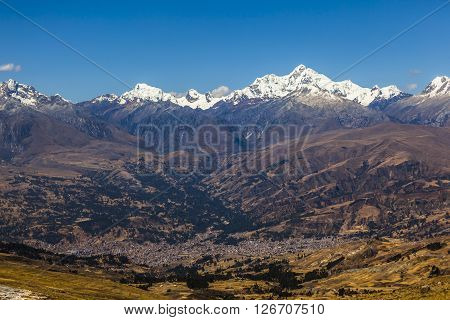 Cordillera Blanca mountains, Huaraz, Peru, South America.