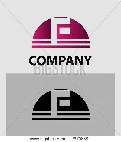 Alphabet symbol Letter F. Letter F logo design