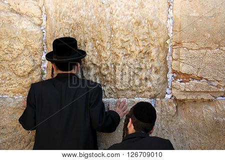 Wailing Wall in the Old City of Jerusalem, after surviving the destruction of the Second Temple