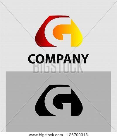Letter G. Logo letter G company vector design template