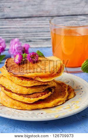 Pancakes With Pumpkin