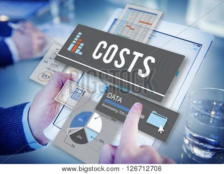 Costs Budget Money Finance Cash Flow Concept