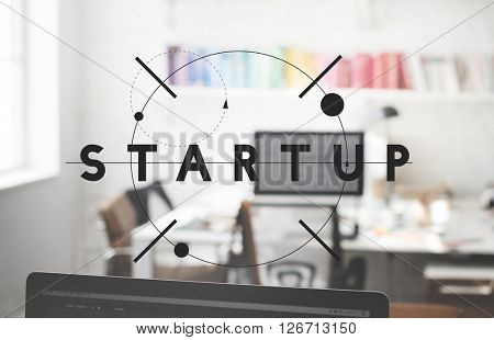 Start Up Launch Business Plan Vision Opportunity Concept