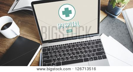 Hospital Clinic Health Institution Medicine Care Concept