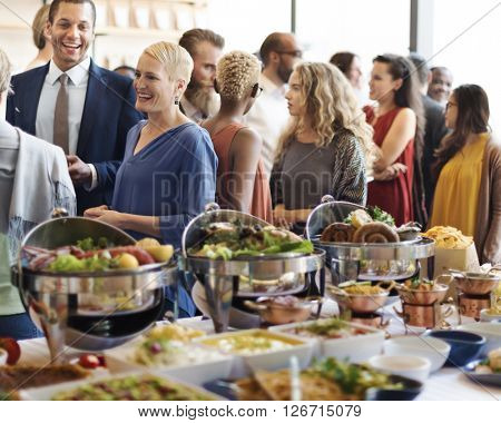 Food Brunch Cafe Catering Dining Cheers Event Concept